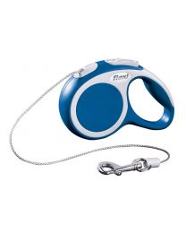 Flexi Vario Cord Dog Lead, Blue 8kg - Extra Small, 3m (10ft)