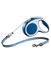 Flexi Vario Cord Dog Lead, Blue 20kg - Medium, 5m (16ft)