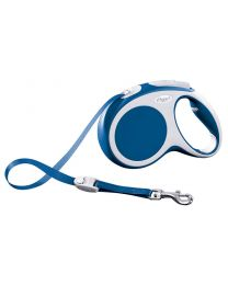 Flexi Vario Tape Dog Lead, Blue 25kg - Medium, 5m (16ft)