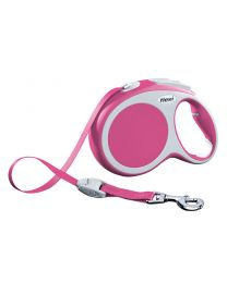 Flexi Vario Tape Dog Lead, Pink 50kg - Large, 8m (26ft)