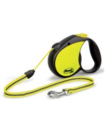 Flexi Neon Reflect Cord Dog Lead, 20kg - Medium, 5m (16ft)